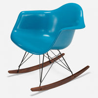 Walnut Rocker - Black Wire Ocean