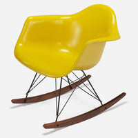 walnut-rocker-black-wire-sunflower-yellow
