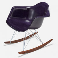 Walnut Rocker - Zinc Wire Purple