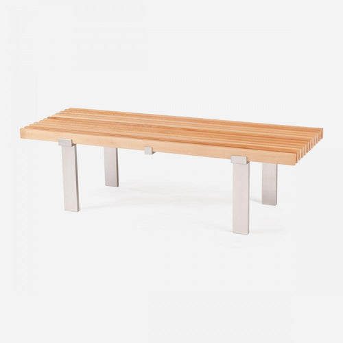 Case Study Furniture® Museum Bench - Maple Sample