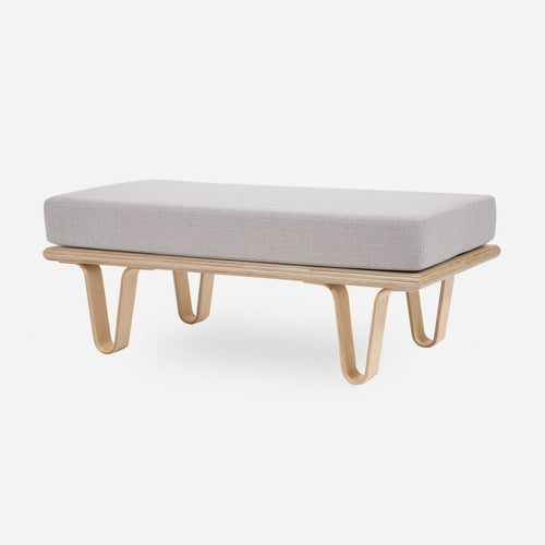 Case Study® Furniture Bentwood Daybed Convertible Ottoman Rectangle