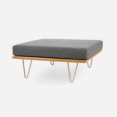 Case Study® Furniture V-Leg Daybed Convertible Ottoman Square