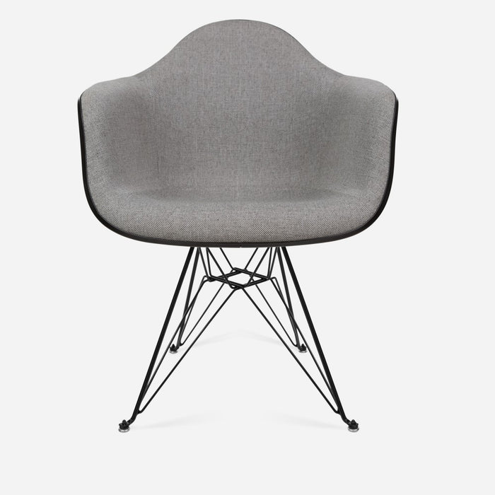 Case Study® Upholstered Arm Shell Eiffel ...