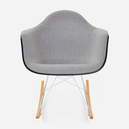 Case Study® Furniture Upholstered Arm Shell Rocker