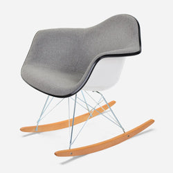 Case Study Furniture® Upholstered Arm Shell Rocker