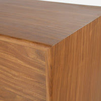 Case Study Furniture® African Teak 3 Drawer Dresser Sample