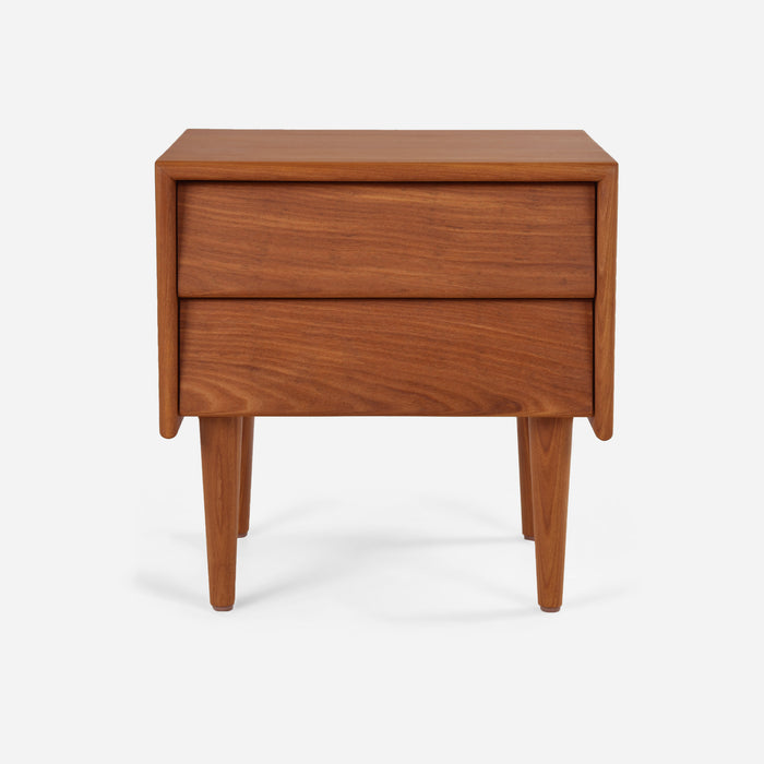Case Study Furniture® Solid Wood 2 Drawer Bedside Table