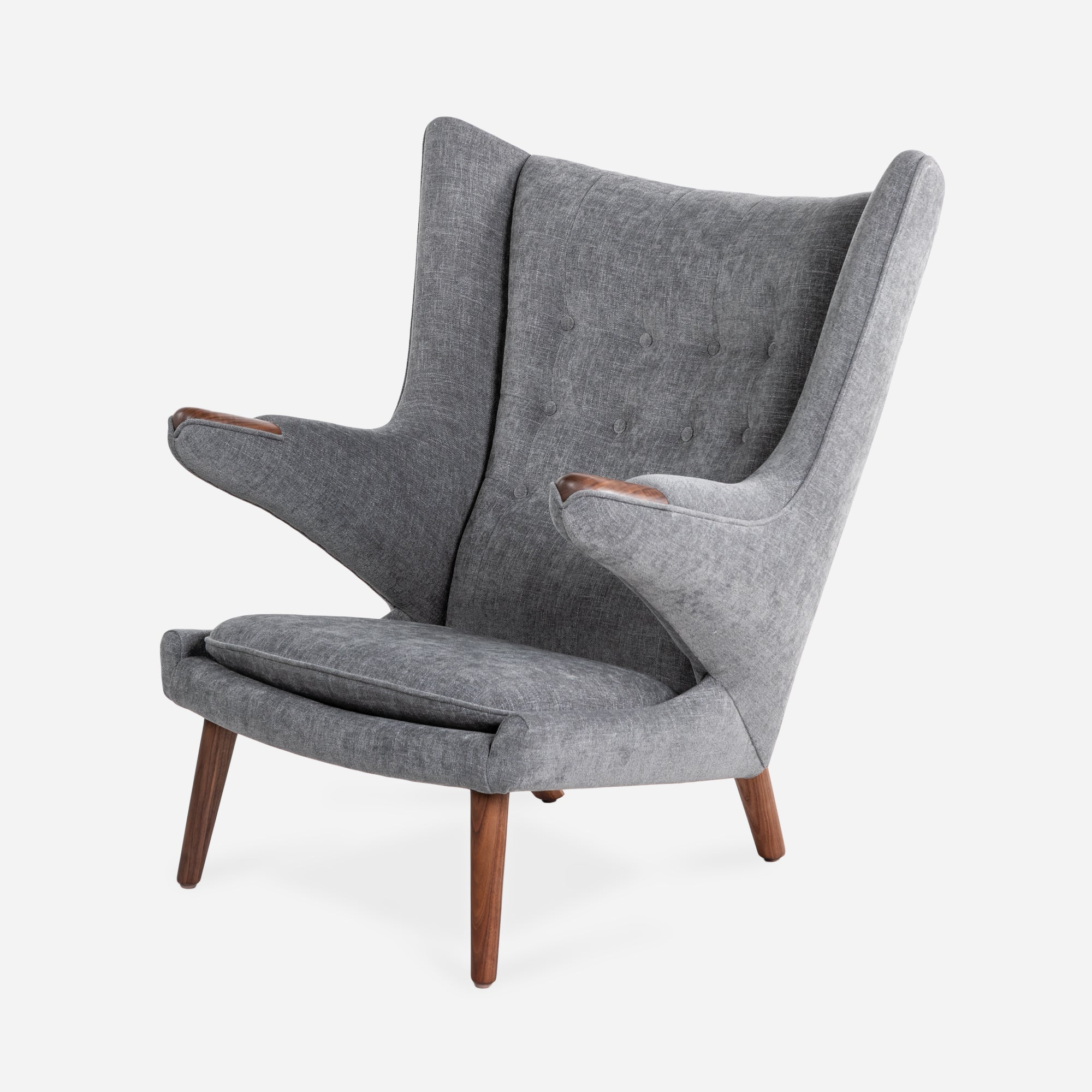 Luxembourg Lounge Stoel.Papa Bear Chair Modernica Inc
