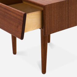 Case Study® Furniture Solid Wood Bedside Table with Drawer
