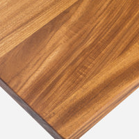 Case Study® Furniture Solid Wood Coffee Table With Straight Edge