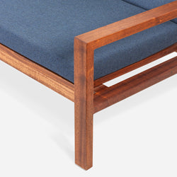 Case Study® Furniture Solid Wood Couch - Upholstered