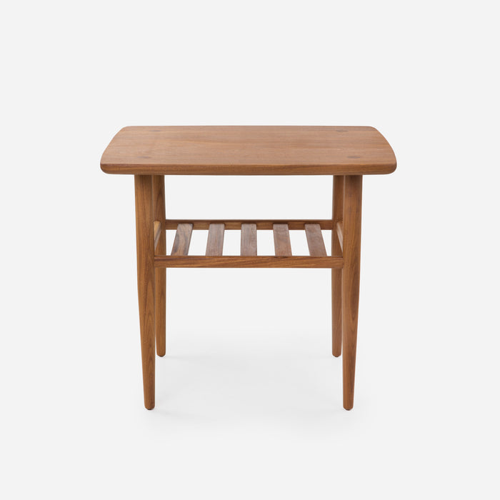 Case Study Furniture® Solid Wood End Table with Tapered Edge