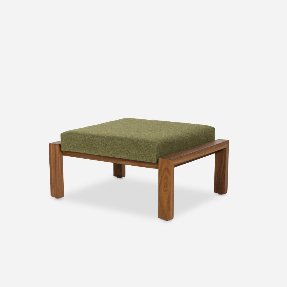 Case Study Furniture Solid Wood Ottoman Upholstered Modernica Inc