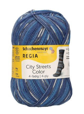 REGIA City Streets Color 4ply 02898