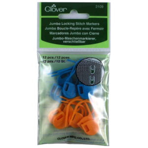 Clover Jumbo Stitch ring Markers No. 3109