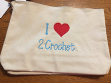 Crochet Embroidered bag
