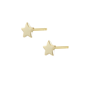 Star Pendant Stud Earrings