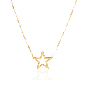 Solo Star Necklace