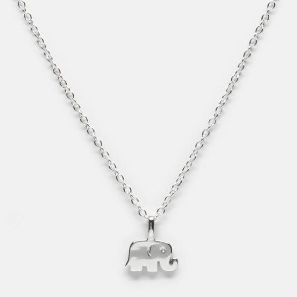 BellaBoho Elephant Charm Necklace 58.00
