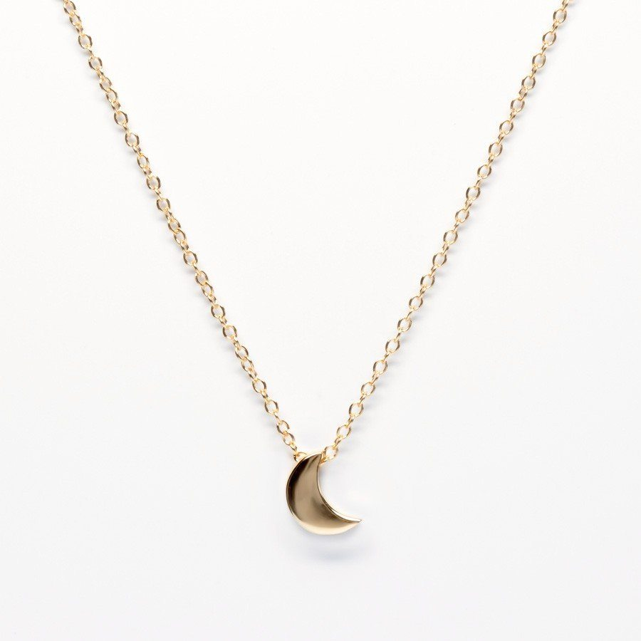 BellaBoho Crescent Moon Necklace 34.80