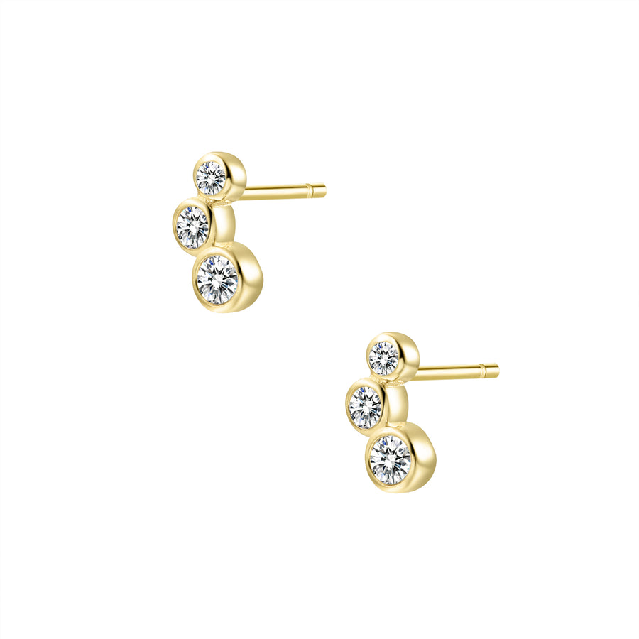Crawling Stud Earrings