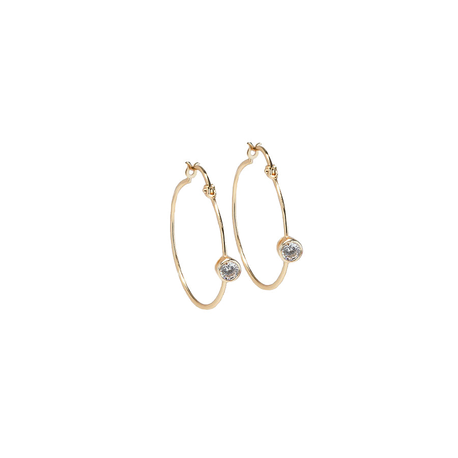 Minimalist Hoop Earrings