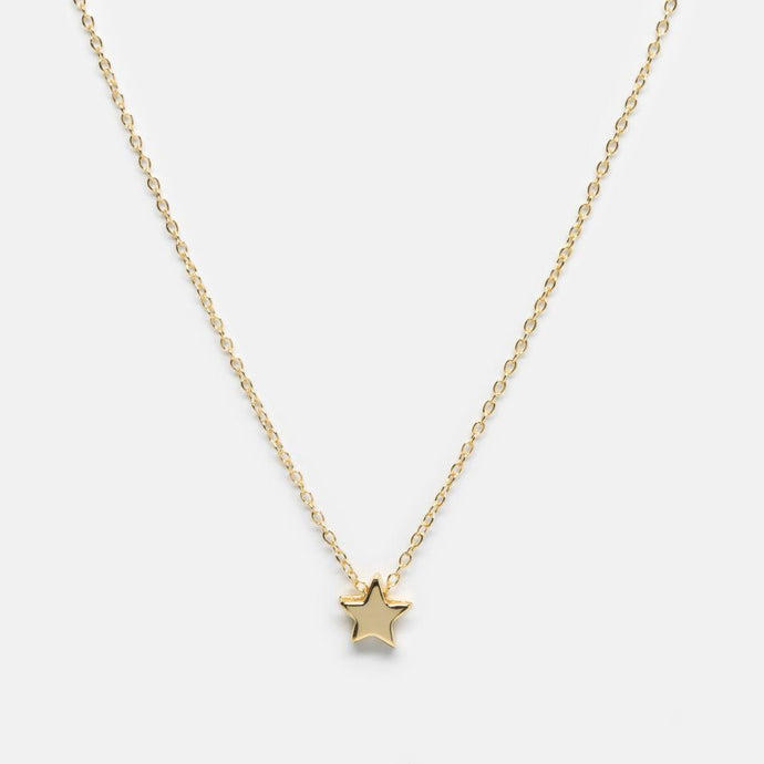 Upon a Star Necklace, Gold