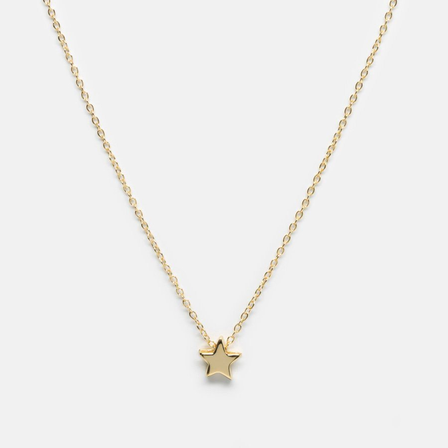 Upon a Star 18K Gold Vermeil Necklace