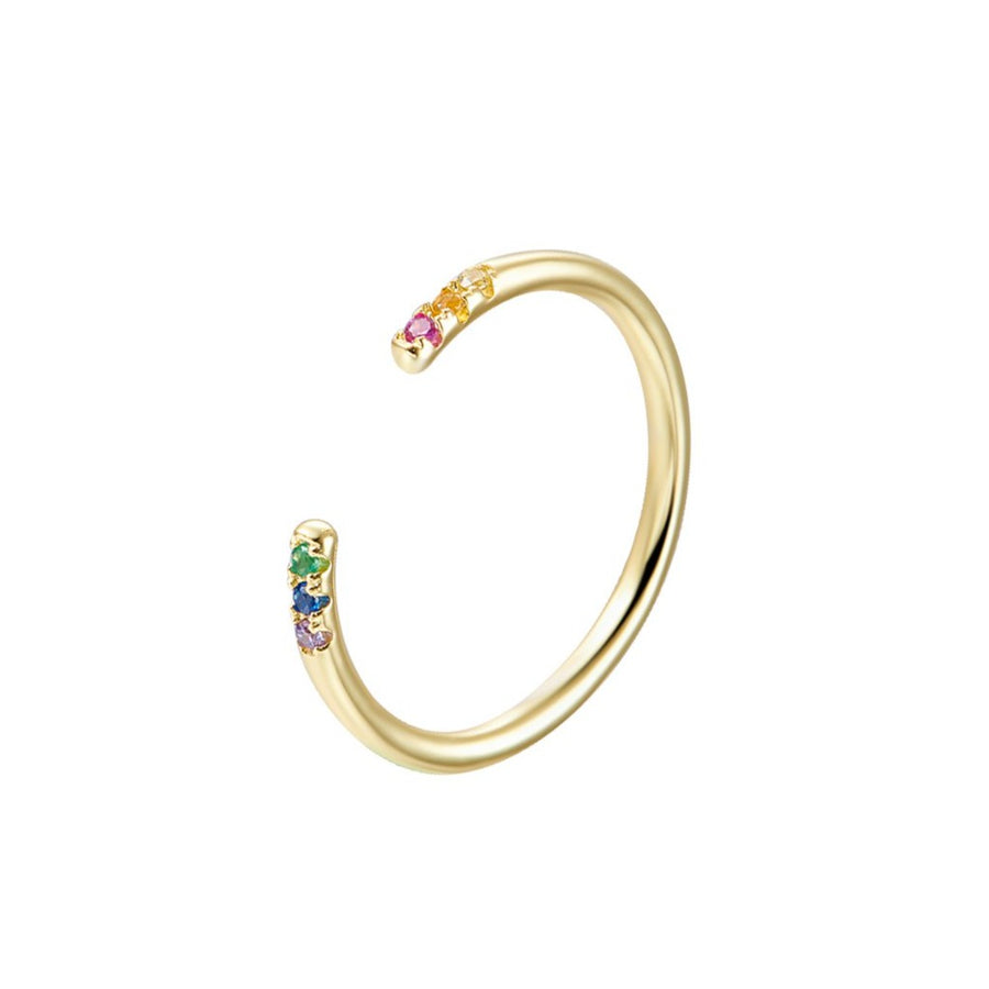 Rainbow Open Ring