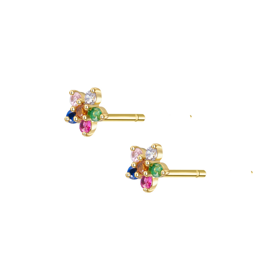 Flower Petal Stud Earring