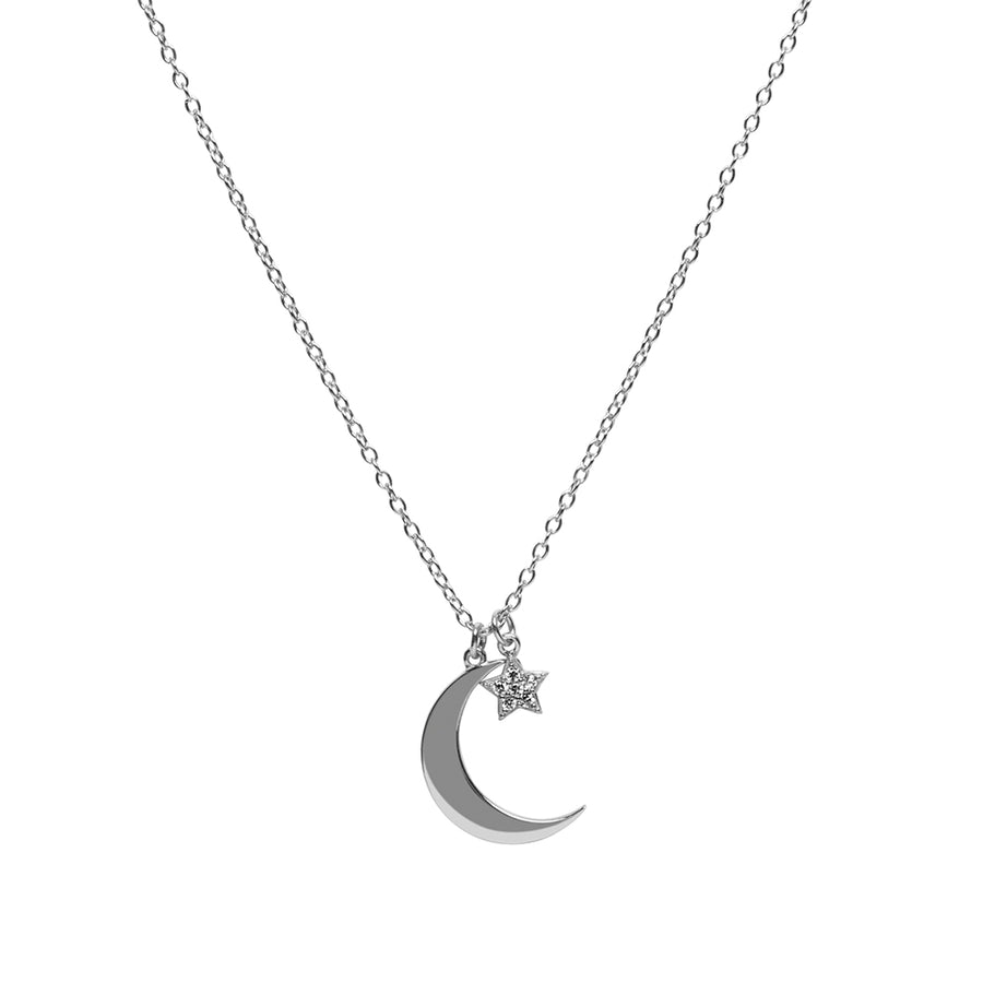 Stellar Moon Necklace