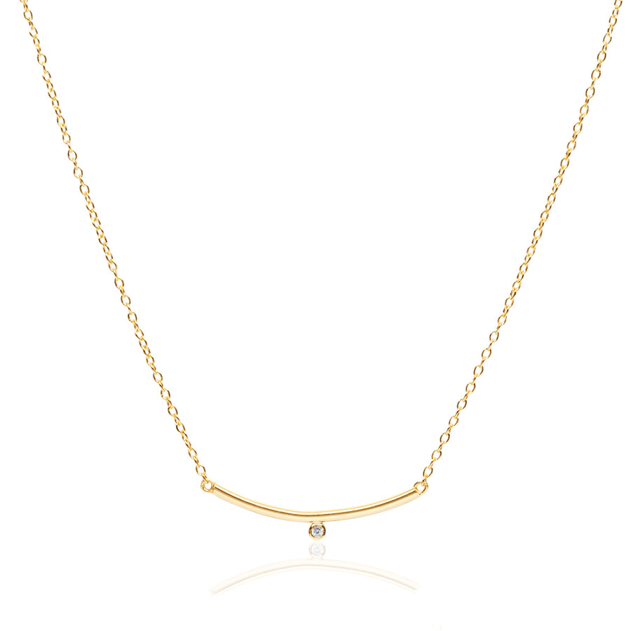 Essential Minimalist Bar Necklace