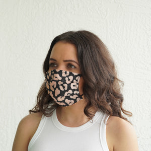 Fashionable Face Mask Leopard Face Covering