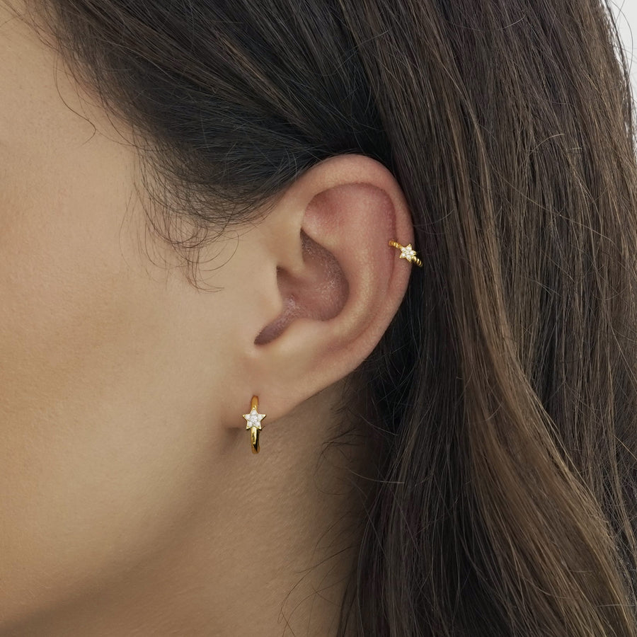 Shooting Star Cuff Earring