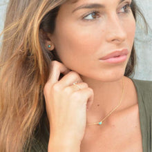 Turquoise Skies  18K Gold Vermeil Necklace