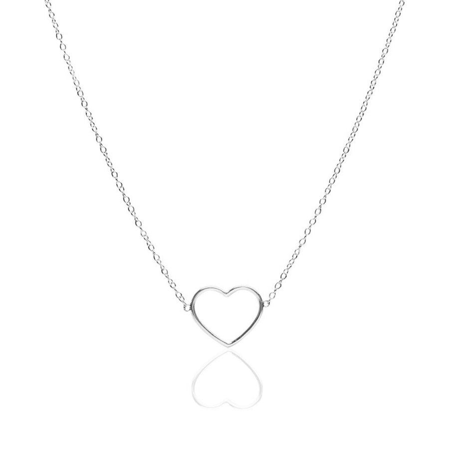 Simple Love Silver Necklace