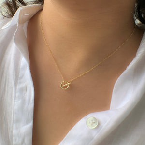 Saturn Vibes Necklace at 58.00