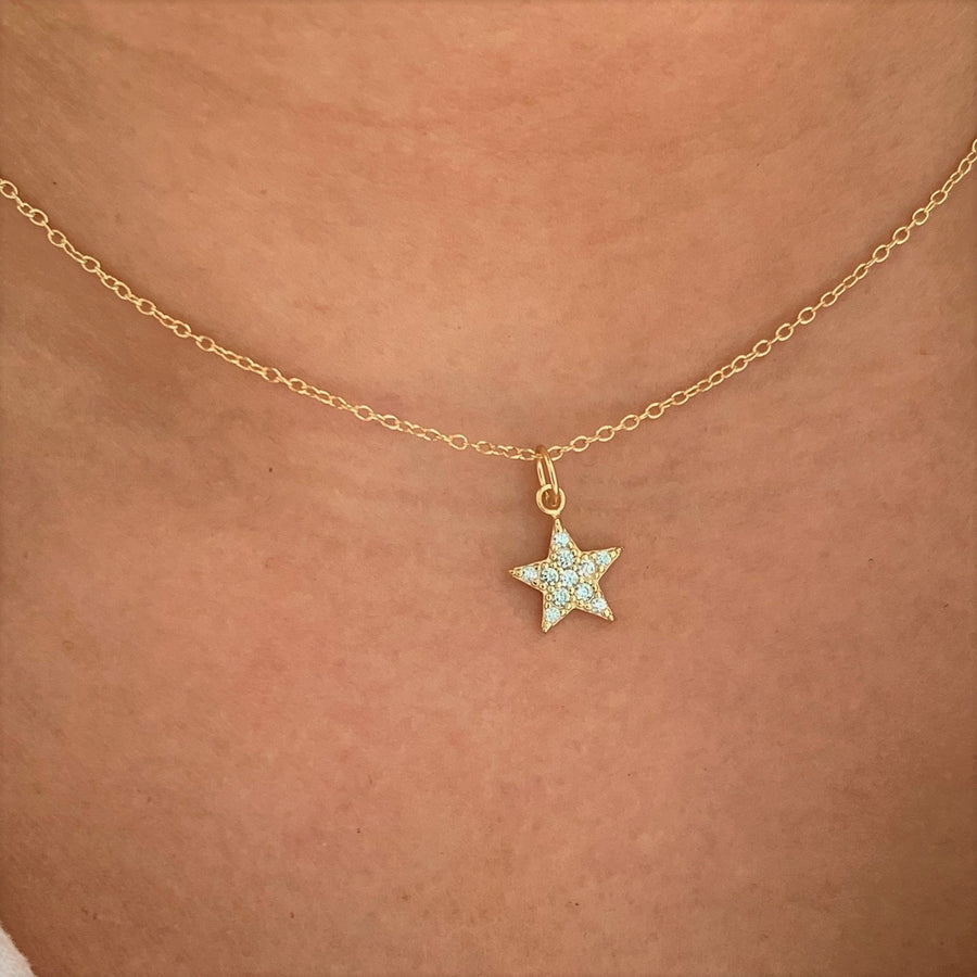 Twinkle Star Necklace at