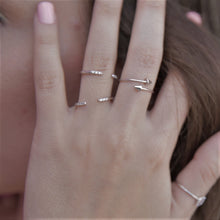 Cupid's Arrow Silver Ring