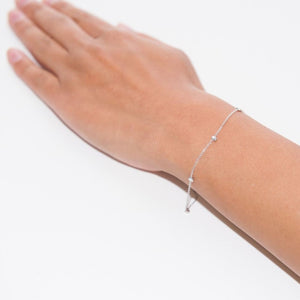No Bad Days Bracelet, Silver