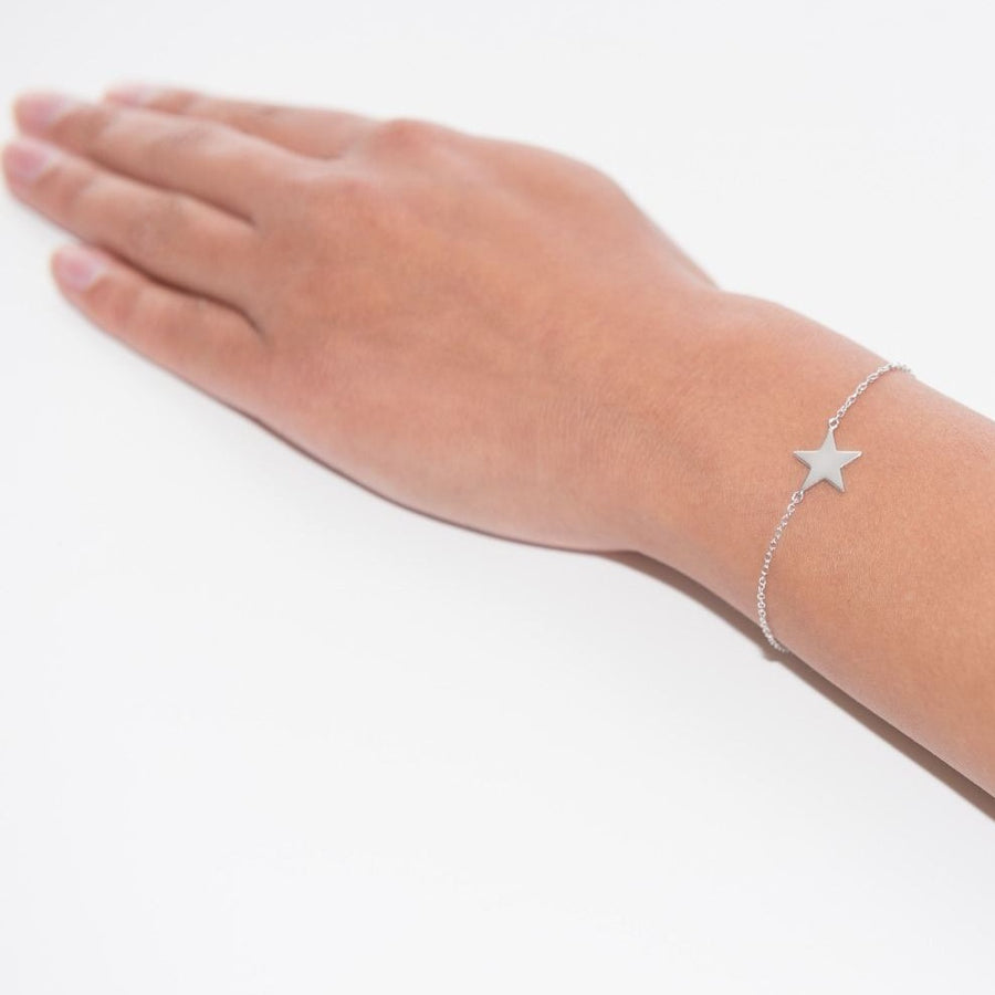 Im a Star Silver Bracelet at