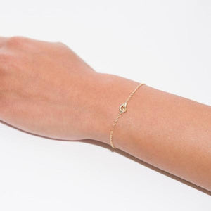 Lets Tie The Knot 18K Gold Vermeil Bracelet
