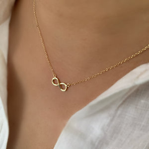 To Infinity and Beyond 18K Gold Vermeil Necklace