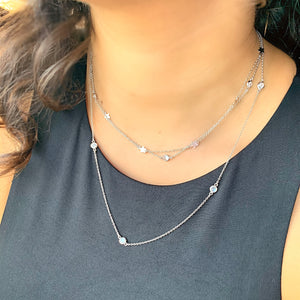 BellaBoho New York Minute Silver Necklace