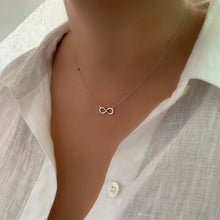 To Infinity and Beyond Silver Necklace