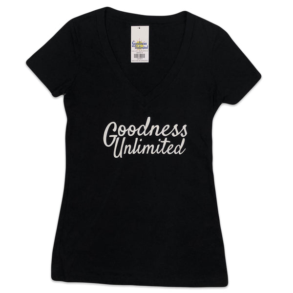 GU Signature Stack V-Neck