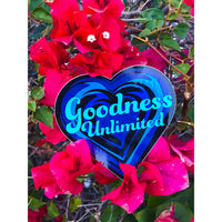 Goodness Unlimited Heart Sticker