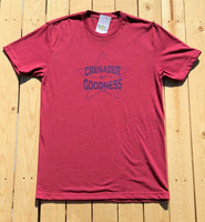 Crusader for Goodness Men's Red