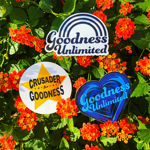 Goodness Unlimited Sticker Value Pack