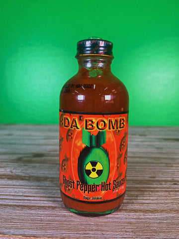 Da Bomb Ghost Pepper Hot Sauce - 4  oz.